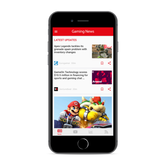 GameScope - Gaming News Reader